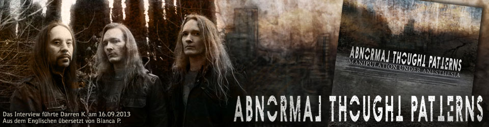 Interview mit Erik von Abnormal Thought Patterns